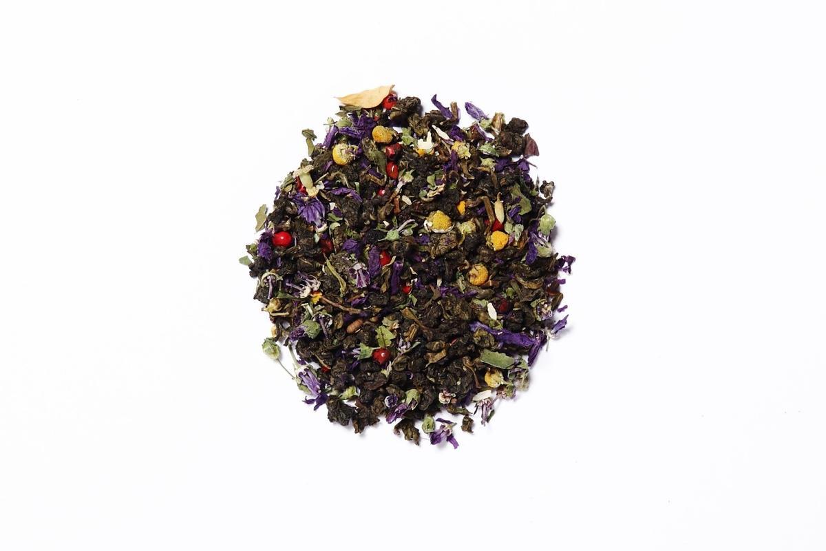 Oolong: libera la fantasia con il tè blu!