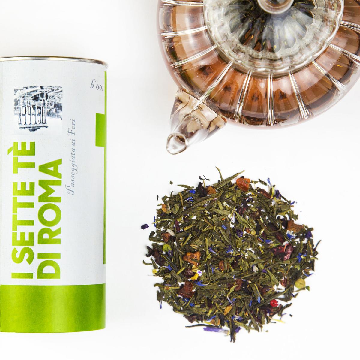 antiossidanti del tè verde o del caffè