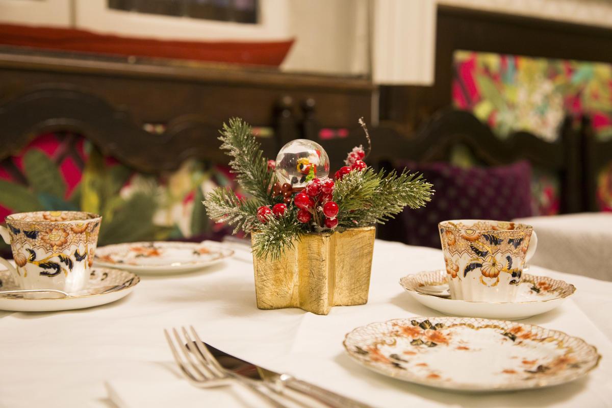 Il tè vittoriano di Natale