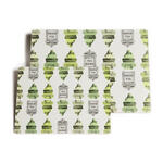 """Rome"" Placemats Small - Green - Placemats"