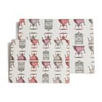 """Rome"" Placemats Small - Pink - Placemats"