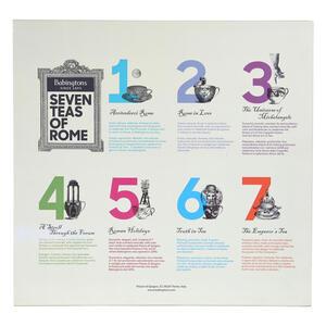 The 7 teas of Rome - Airtight Tin - Gift Ideas