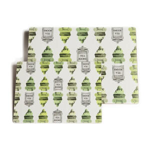 """Rome"" Placemats Large - Green - Placemats"