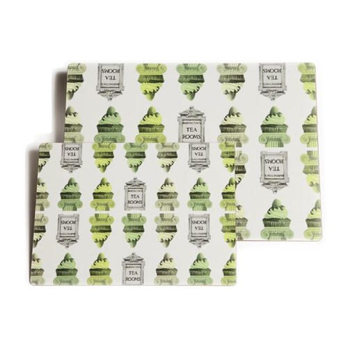 """""""Rome"""" Placemats Large - Green - Placemats"""
