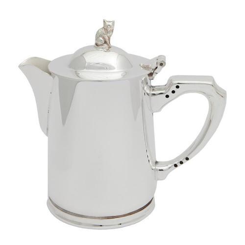 Bricco per acqua calda in Sheffield silver-plate - 1 Pint -
