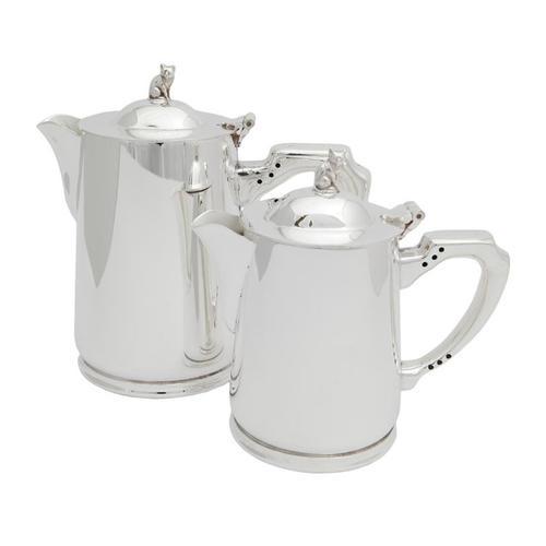 Bricco per acqua calda in Sheffield silver-plate - 1/2 Pint -