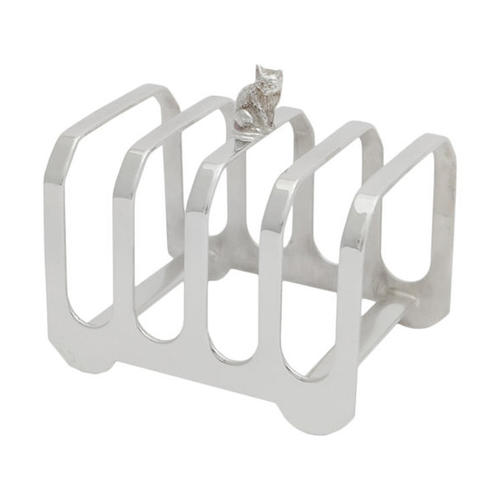 Sheffield silver-plated toast racks - 4 Slice - Homeware
