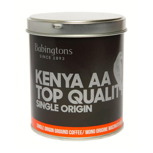 "Kenya ""AA"" Top Quality Single Origin - Ground Moka - Ground moka"