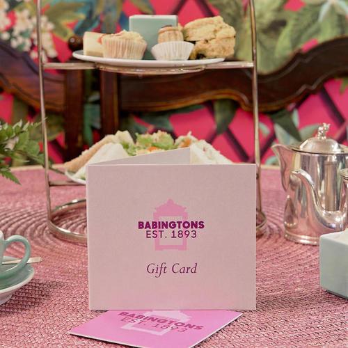 Dorothy's Cream Tea per due - Versione PDF online - Gift cards