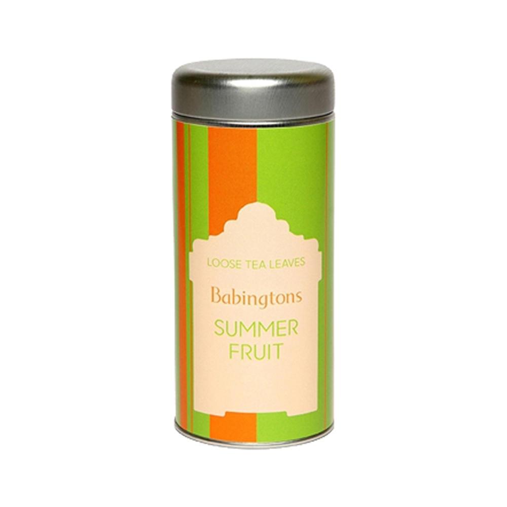 Babingtons Summer Fruit Herbal Tea - Airtight Tin