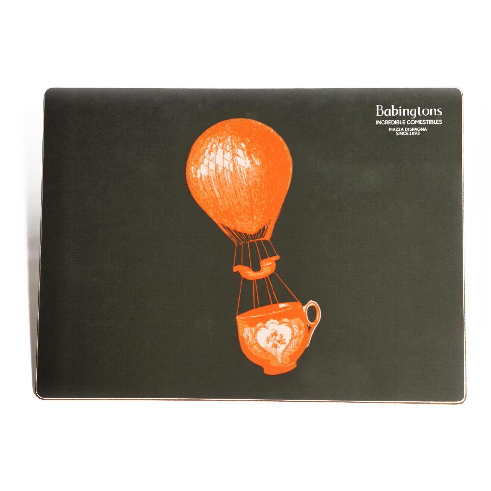 """Sottopiatti """"Fly Away"""" - Arancione - Articoli per il Tè"""