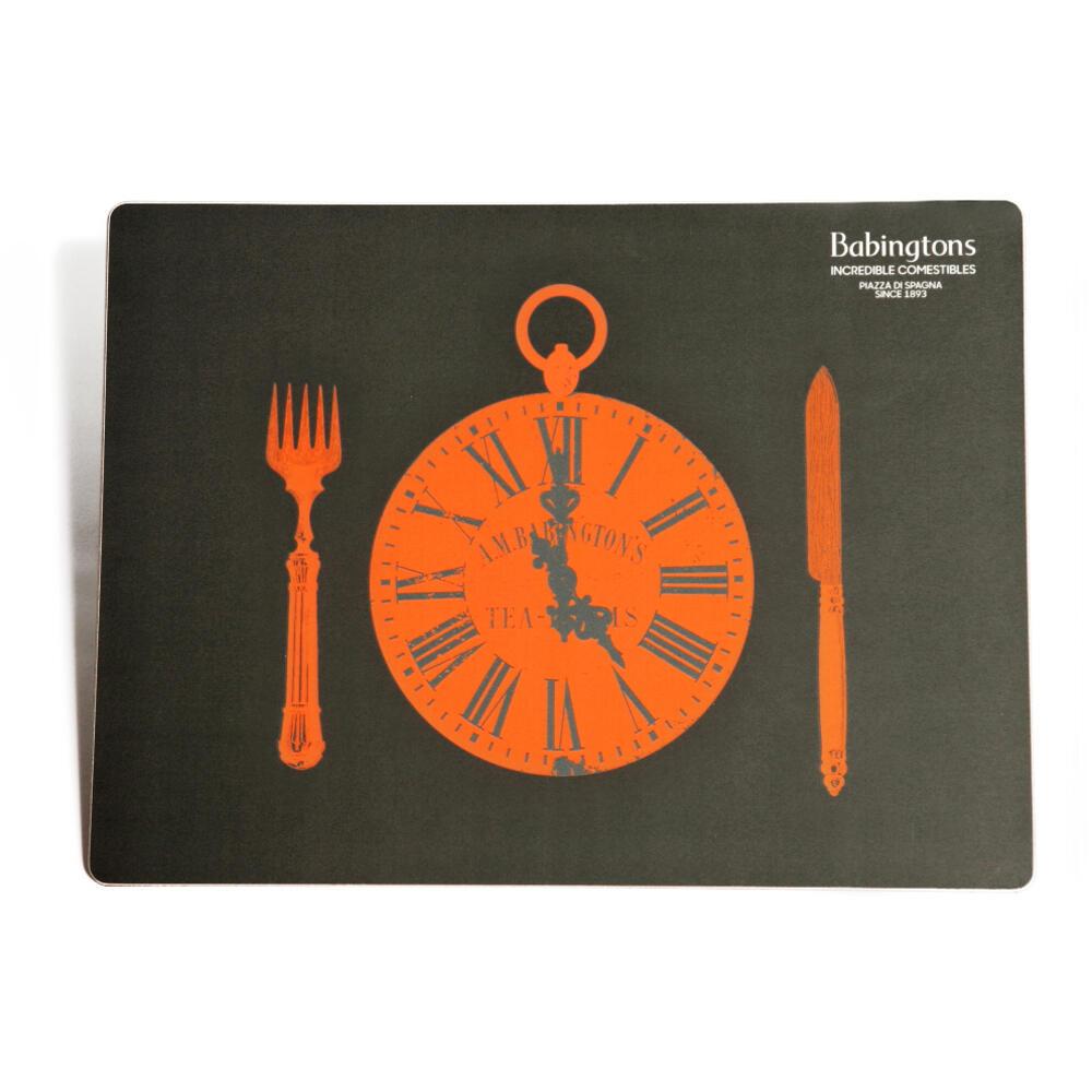 """Sottopiatti """"It's Time for Tea"""" - Arancione - Articoli per il Tè"""