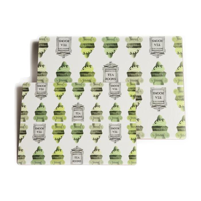 """Sottopiatti """"Rome"""" Large - Verde - Articoli per il Tè"""