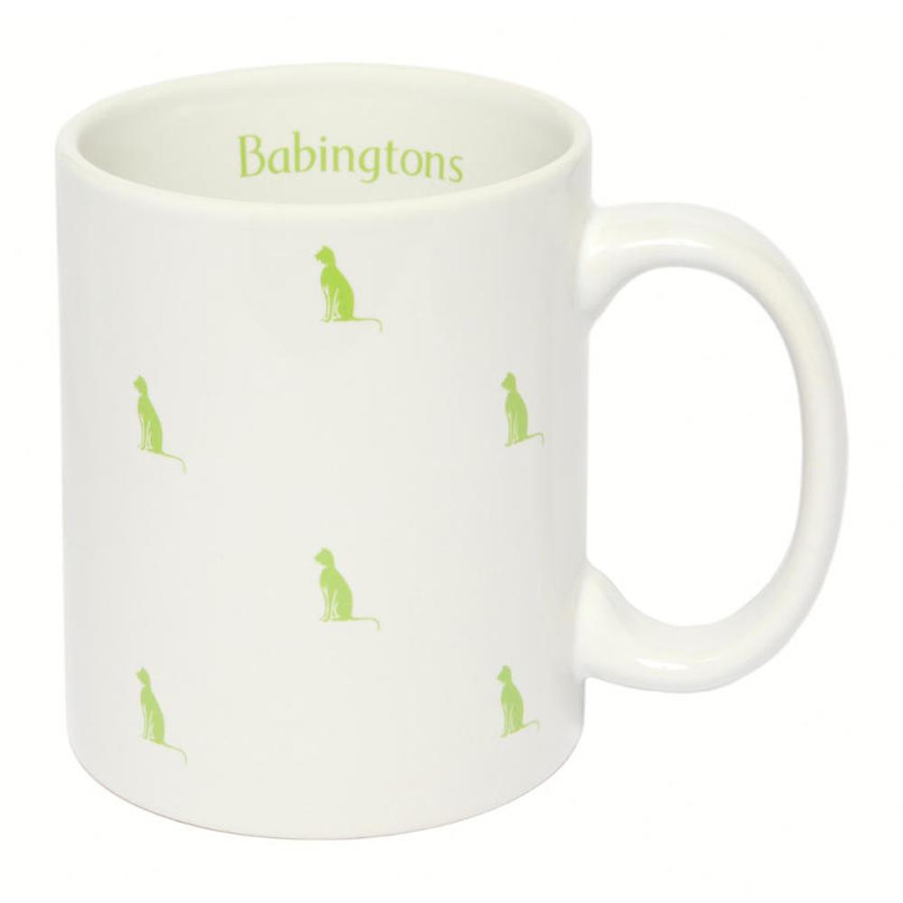 Tazza con Gattini Colorati - Verde - Articoli per il Tè