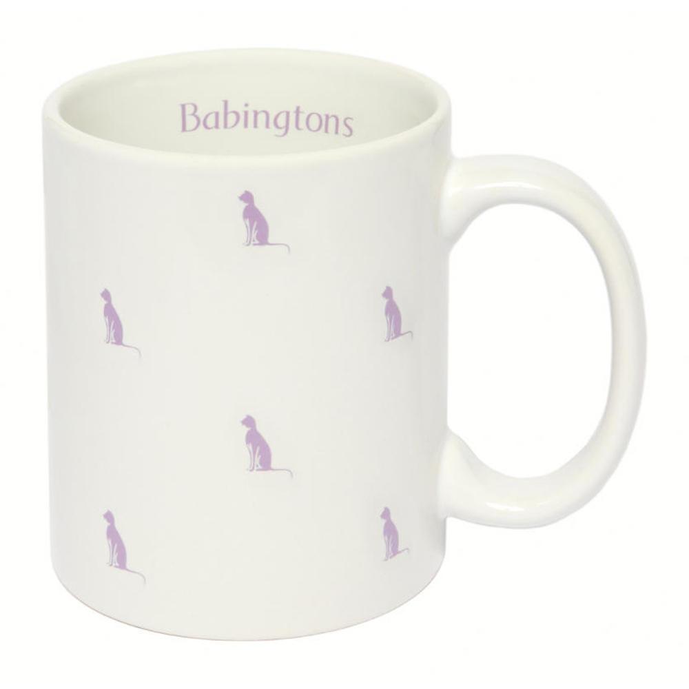 Tazza con Gattini Colorati- Viola - Articoli per il Tè