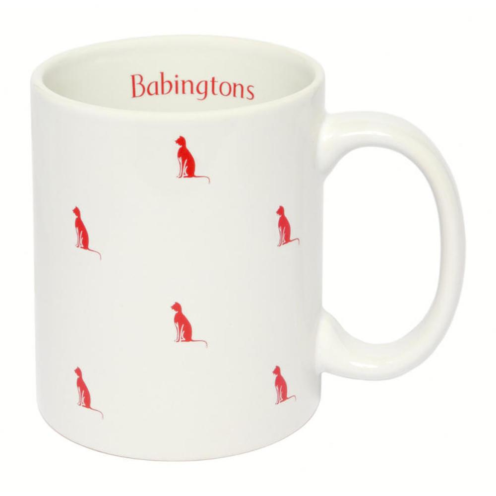 Tazza con Gattini Colorati- Rossa - Articoli per il Tè