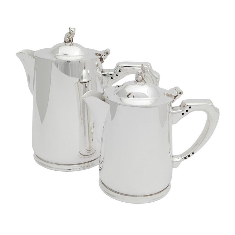 Bricco per acqua calda in Sheffield silver-plate - 1/2 Pint - Articoli per il Tè