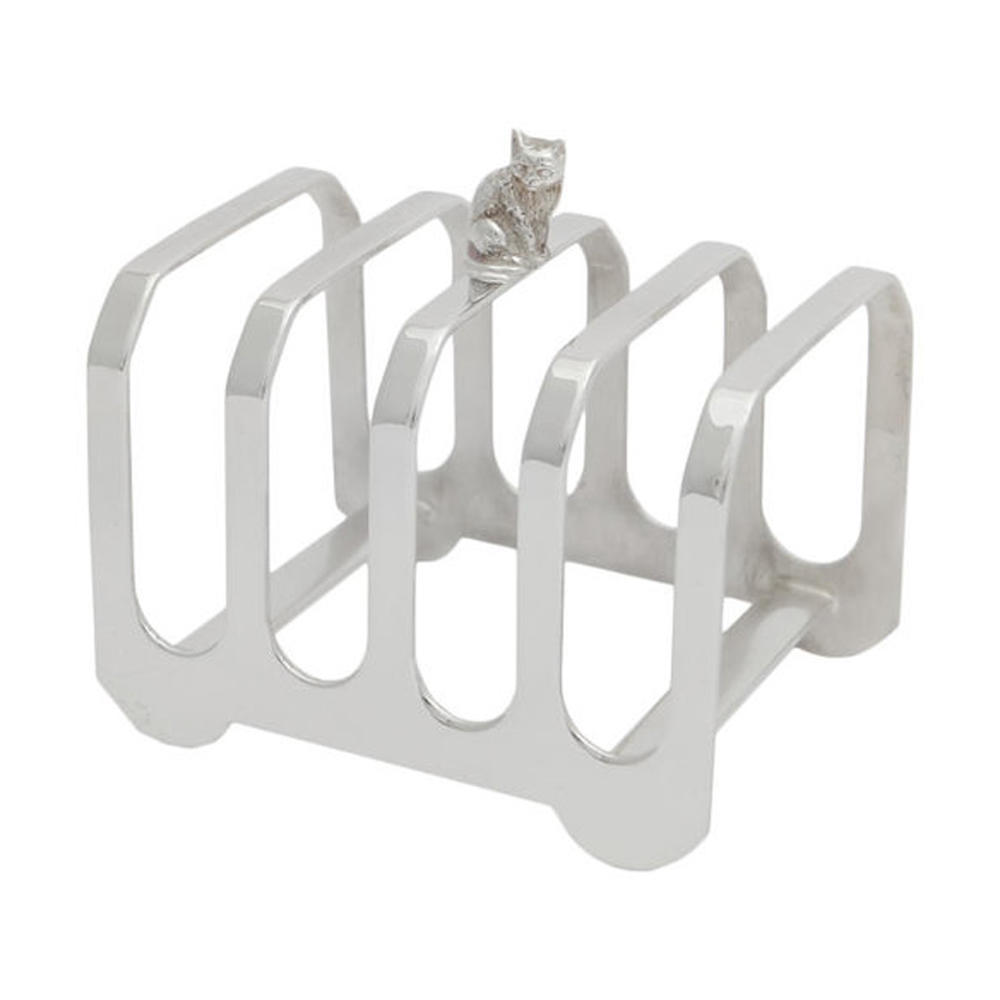 Sheffield silver-plated toast racks - 4 Slice - Homeware