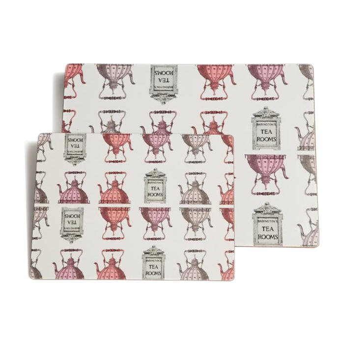 """Rome"" Placemats Small - Pink - Homeware"
