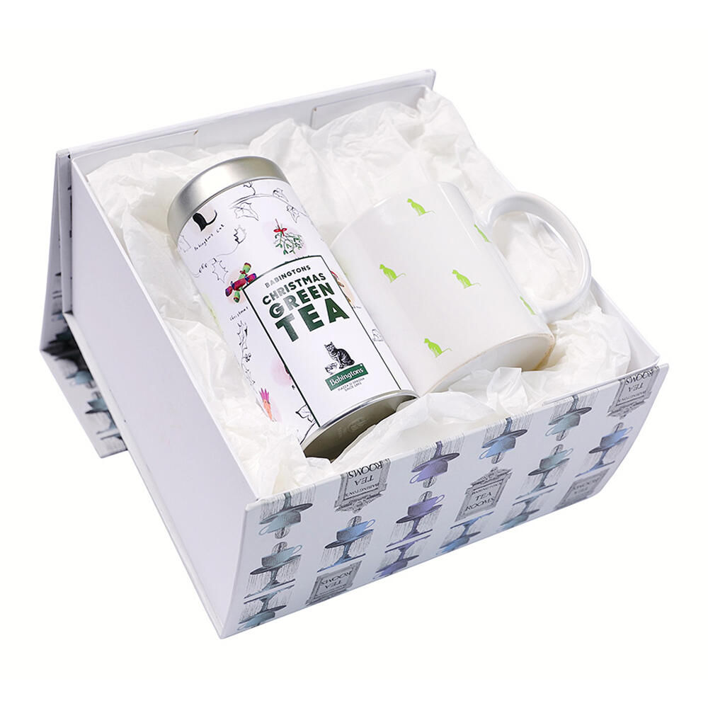 Gift Box Christmas Green Tea & Tazza Gattini -