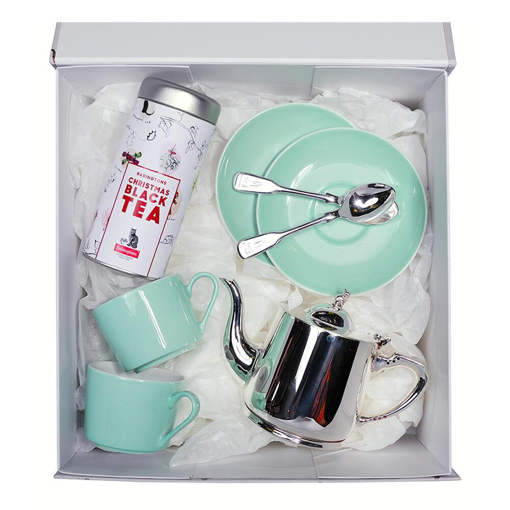 Gift Box Christmas Black Tea & Servizio da tè -