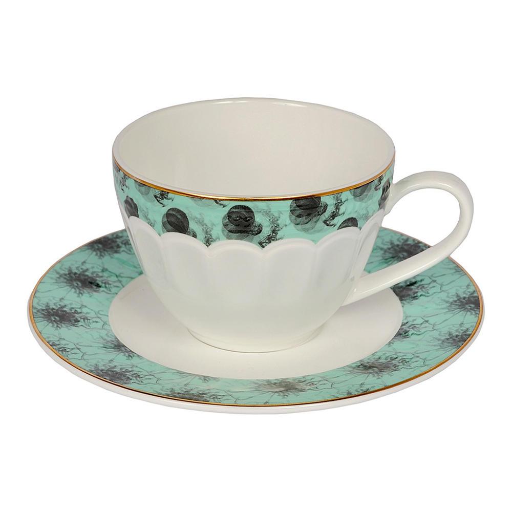 Tazza da tè con piattino Isabel