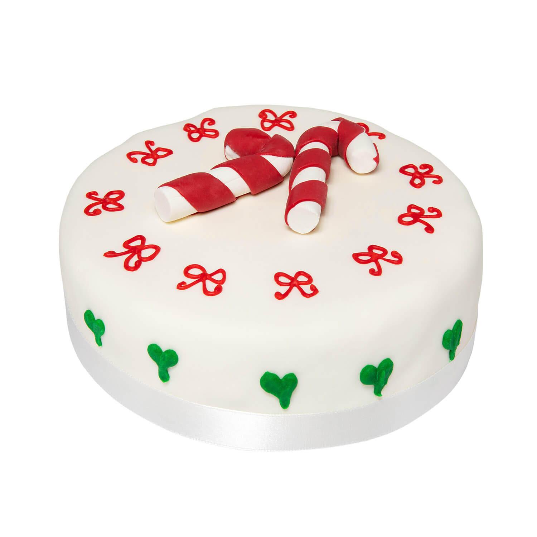 Rich Christmas Fruit Cake - Candy Sticks - La nostra pasticceria